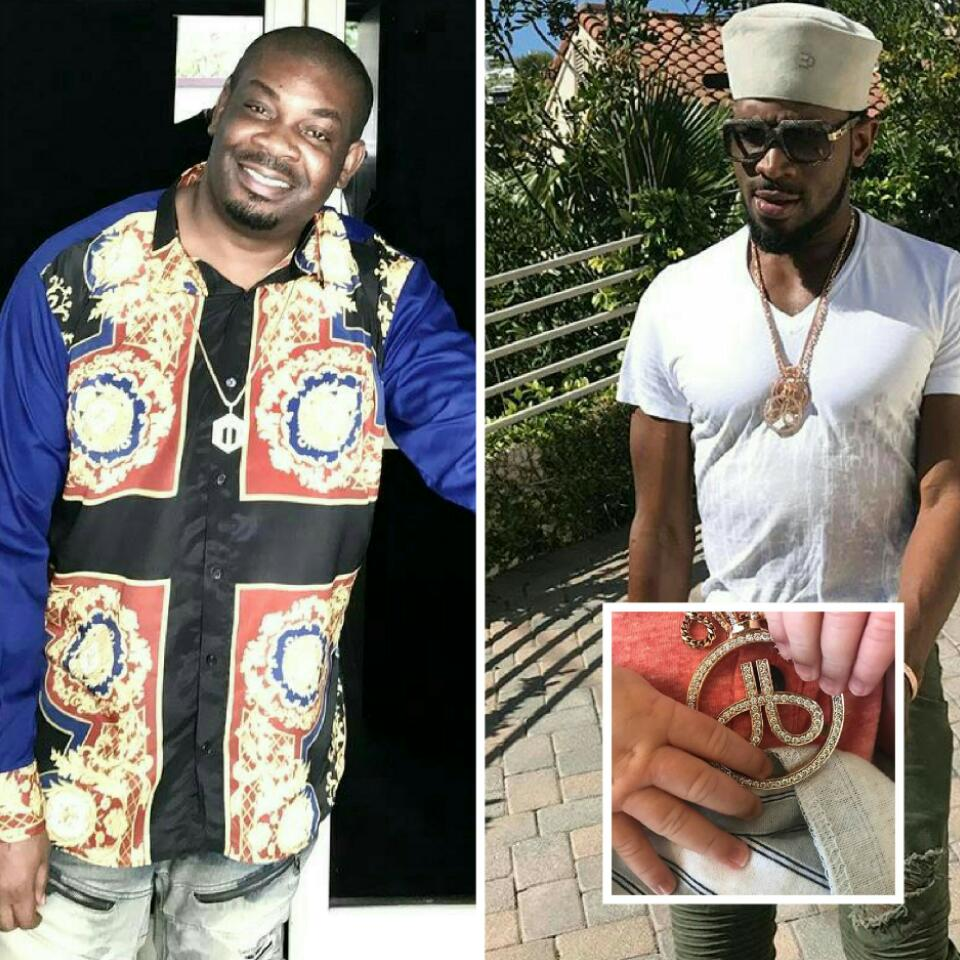 Don Jazzy Congratulates D'banj On The Birth Of His Son