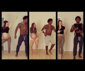 Mum Did A Beautiful Maternity Dance And Then She Recreated The Video With Baby After She Gave Birth