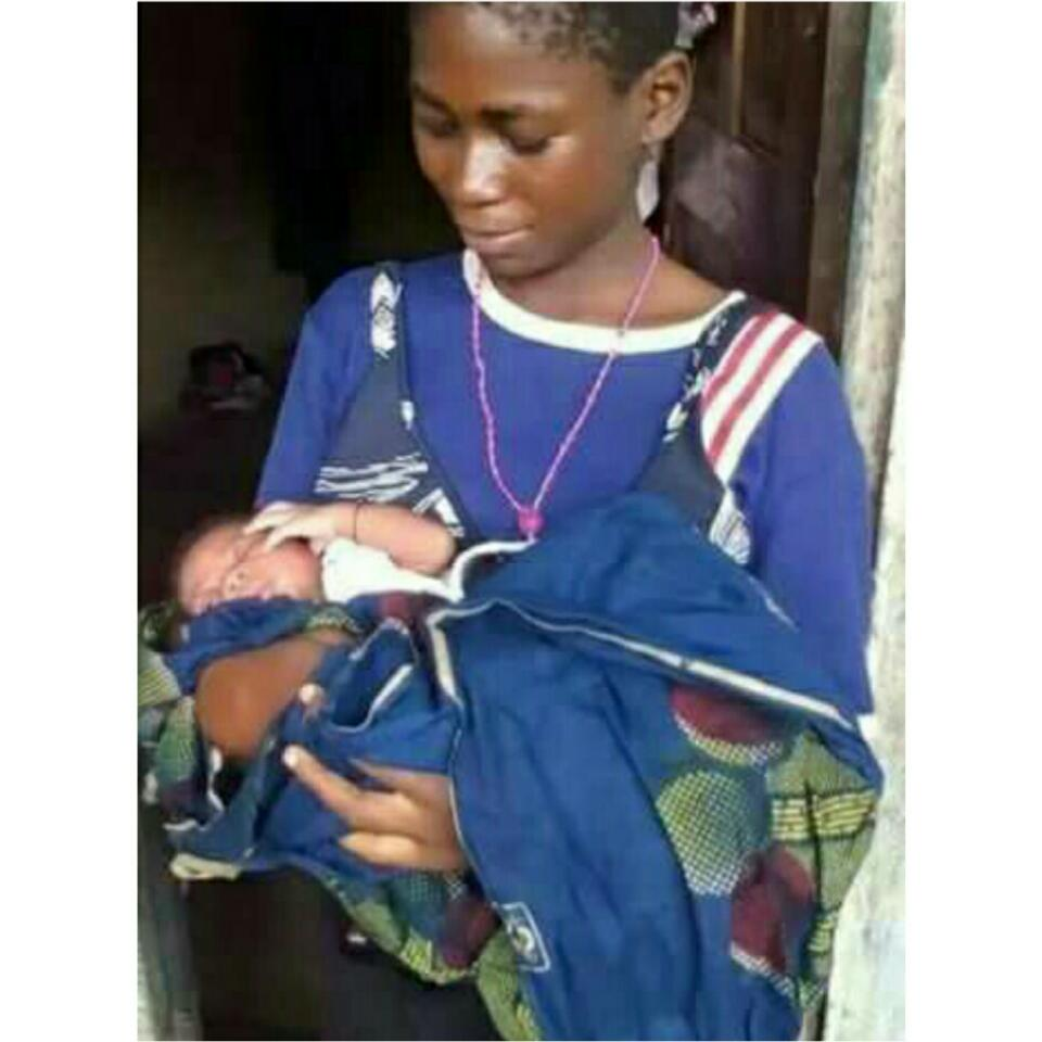 12-Year-Old Homeless Nigerian Girl Has Given Birth To A Baby In A Dumpster