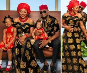 Chacha Eke Faani And Husband Celebrate 4 Years Wedding Anniversary