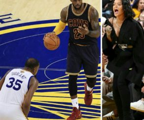 Rihanna Says The King Is Still King Bitch At 2017 NBA Finals