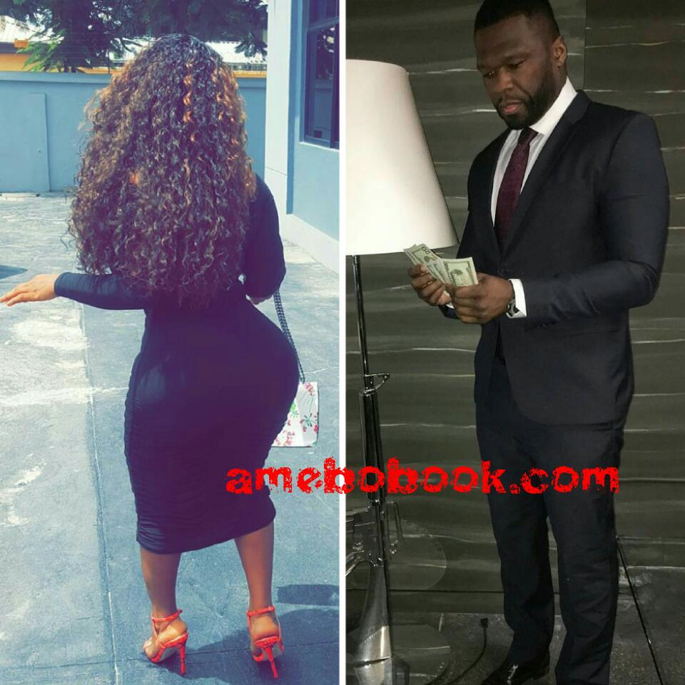 50 Cent Comments On Endowed Nigerian Girl Roman Goddess Instagram Page