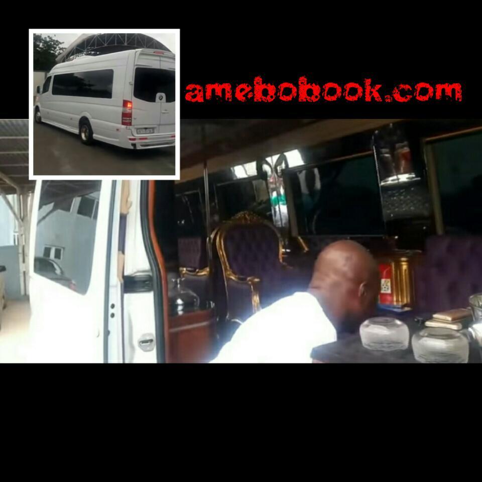 Asamoah Gyan Luxury Mercedes-Benz Bus