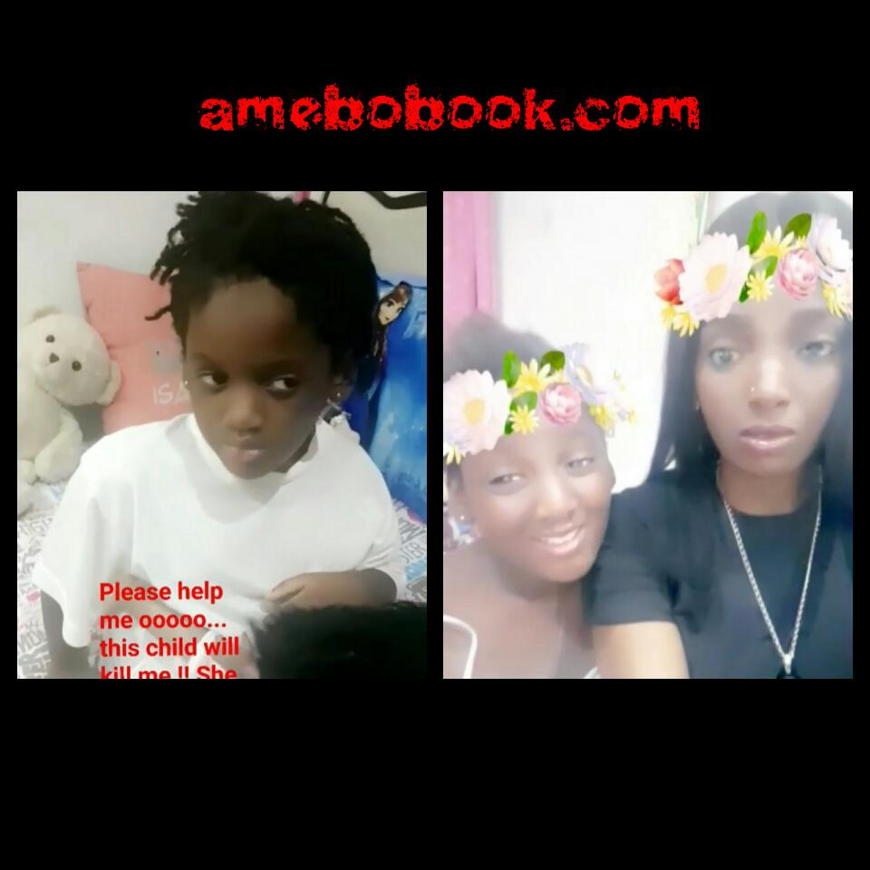 Annie Idibia's Second Daughter Olivia Has Told Her That She's Not Loved Like Her Elder Sister