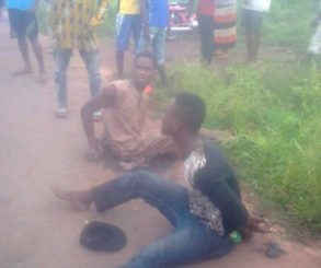 Two Thieves Stripped Completely Naked And Burnt To Death In Imo State
