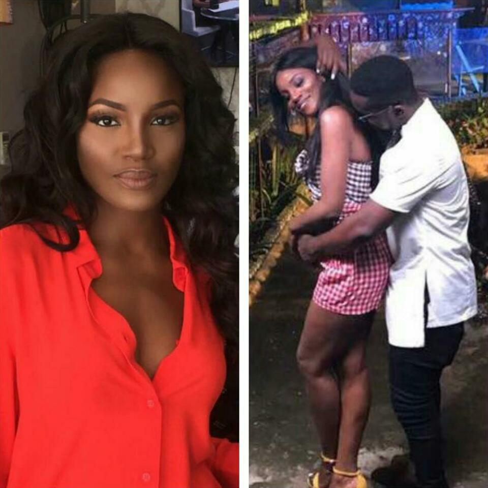 Sarkodie And Seyi Shay In Romantic Photos While On Set