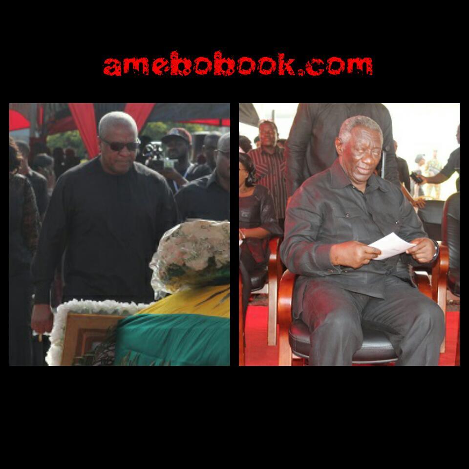 Burial Of Major Maxwell Mahama