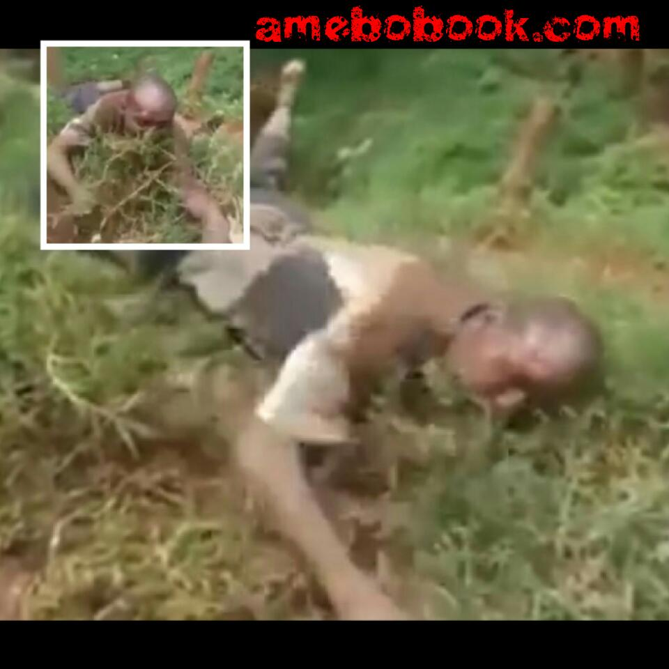 Kenyan Man Bewitched And Made To Eat Grass