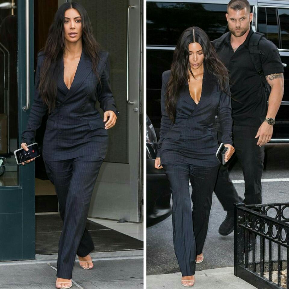 Kim Kardashian Security Guard Pictured Touching Her Butt