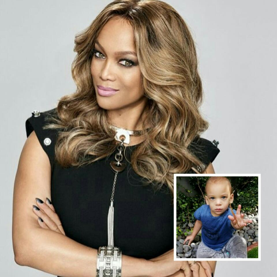 Tyra Banks Teenager: Tyra Banks Has Revealed First Face Pic Of Cute 16-Month