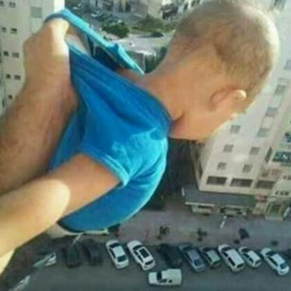 Man Dangled His Own Baby From 15th Floor Window