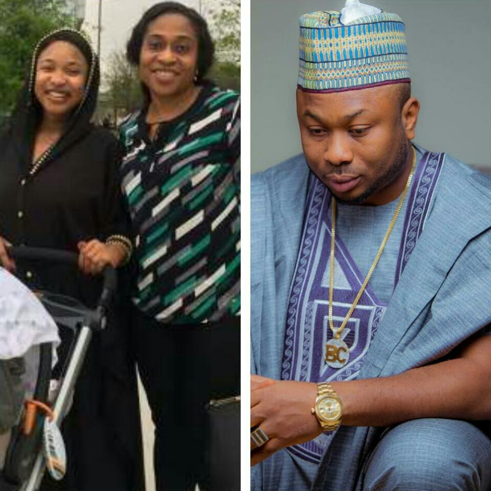 Tonto Dikeh Accused Estranged Husband Olakunle Churchill Of Touching His Mother Inappropriately