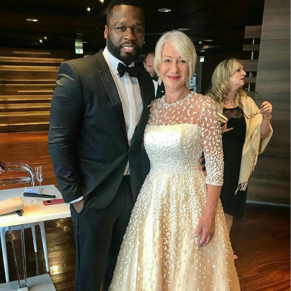 50 Cent Has Admitted That Helen Mirren Turns Him On