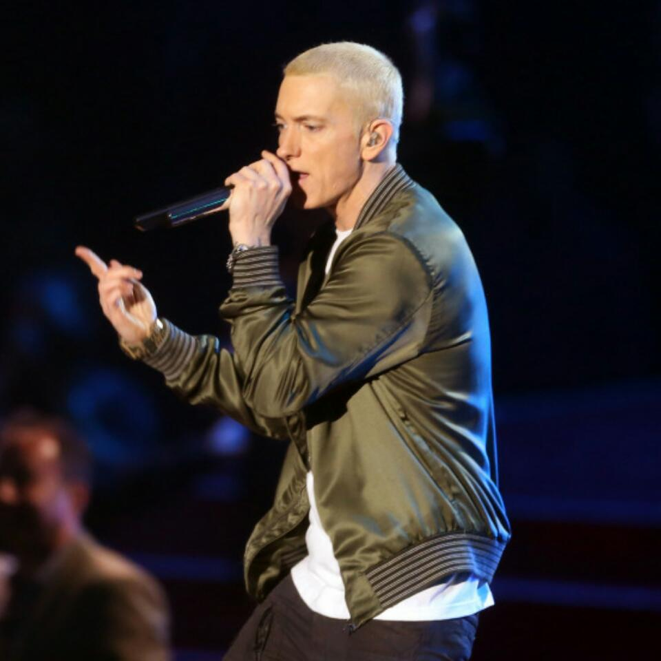 Eminem Has A Brand New Look With A Beard