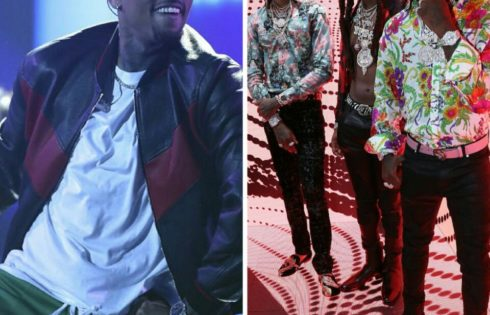 Chris Brown And Karrueche's Boyfriend Quavo Got Into A Fight After 2017 BET Awards