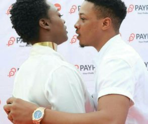 John Ogah In Provocatively Sexy Pose With Uriel Oputa At Olajumoke Orisaguna's Cruise and Chills Show Launch