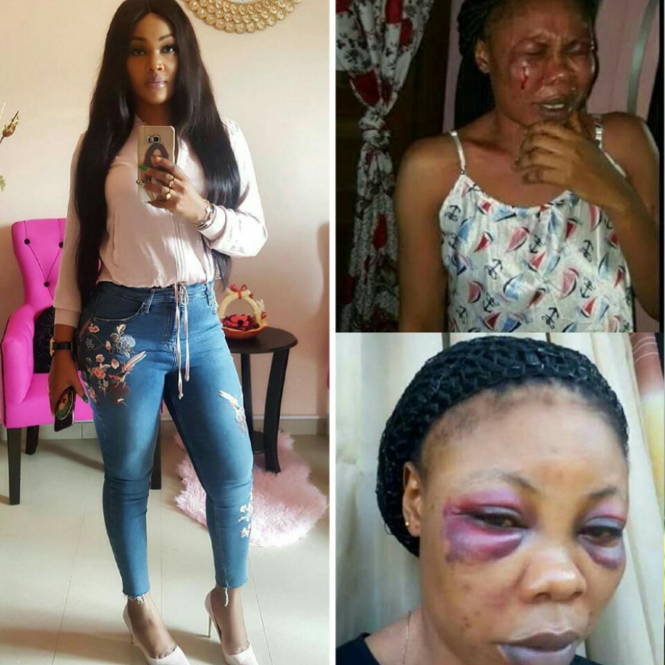 Domestic Violence Victim Mercy Aigbe