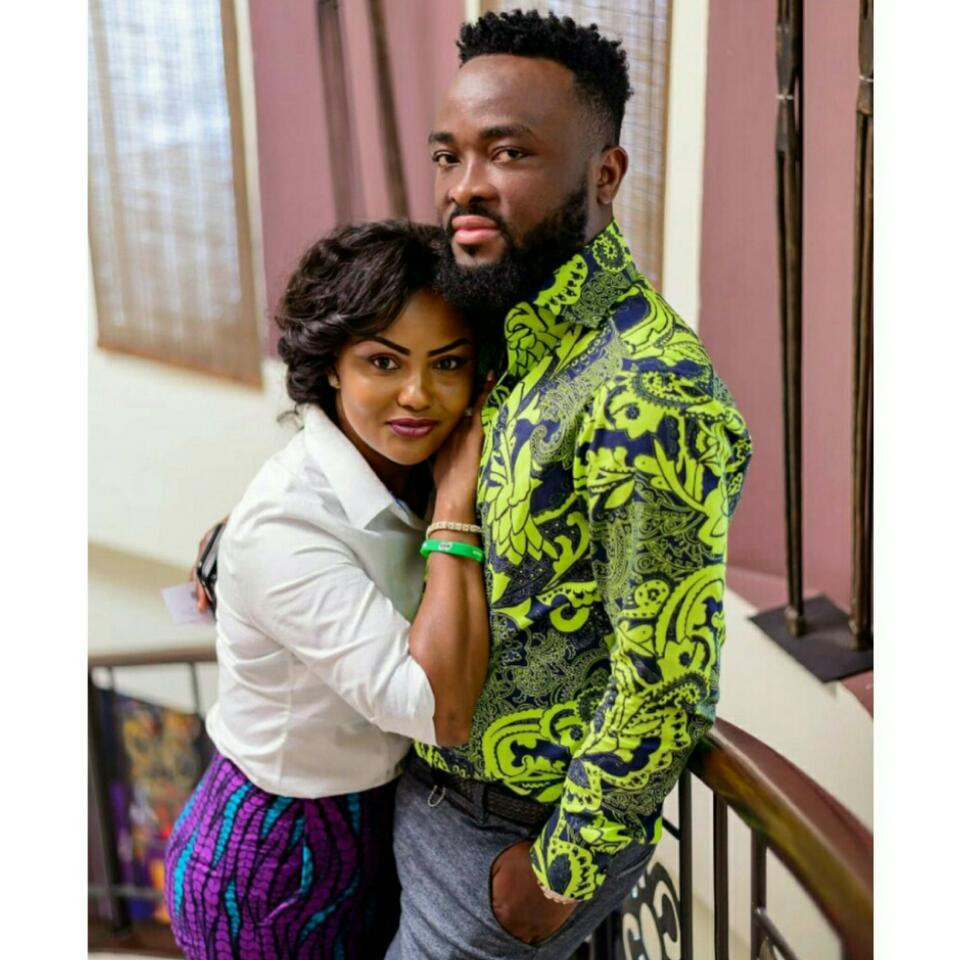 Nana Ama McBrown And Husband Maxwell Mawu Mensah Loved Up In new Photoshoot