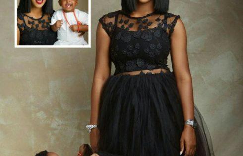 Lilian Esoro And Son Jayden Slay In New Photoshoot