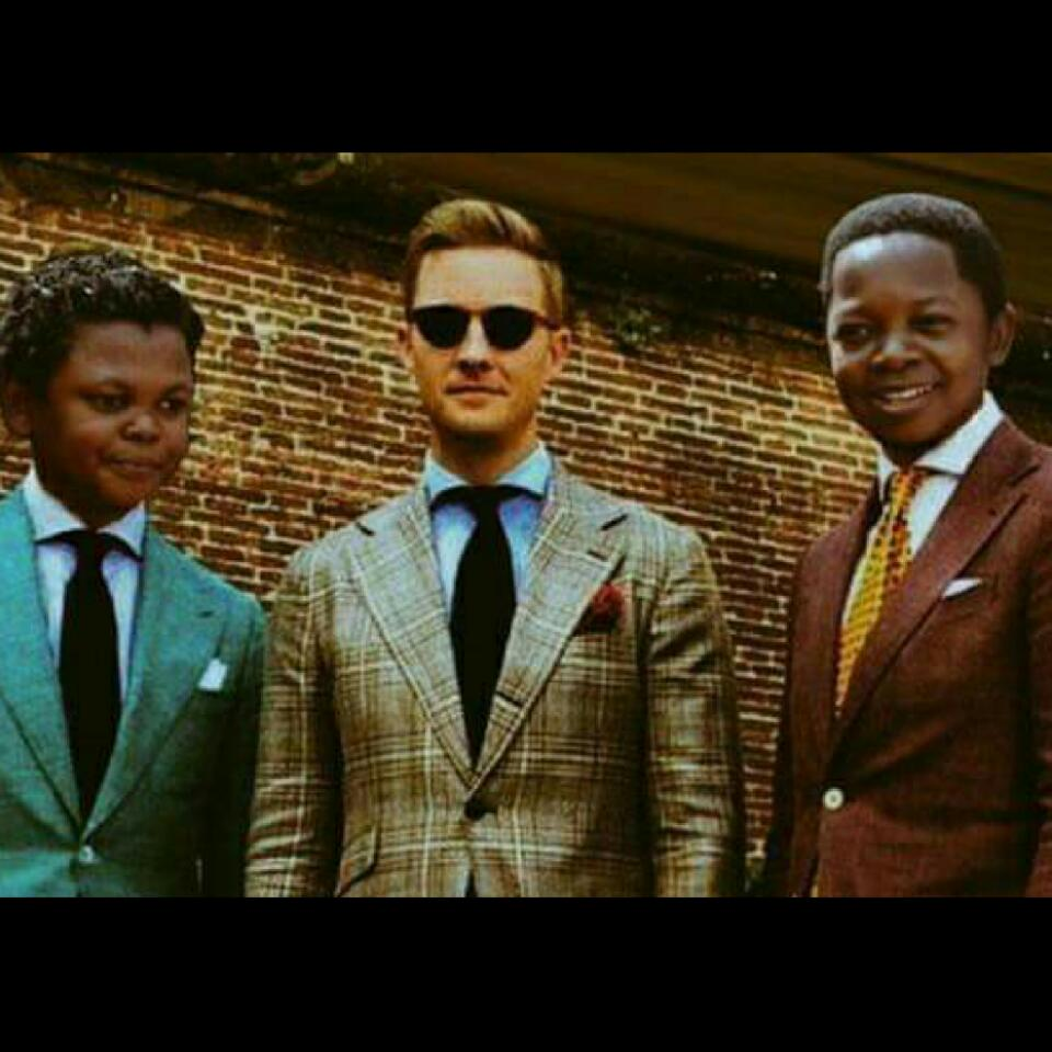 Photoshopped Photo Of Osita Iheme And Chinedu Ikedieze As Tall Men