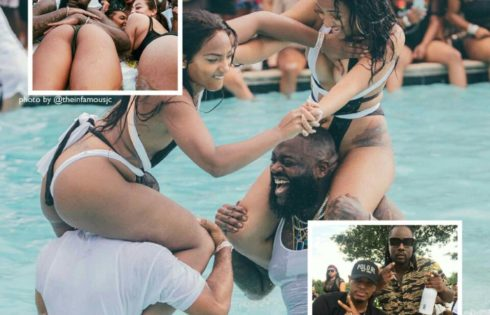 Rick Ross' Biggest Pool Party