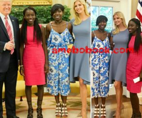 Ivanka Trump Gushes Over Chibok Girls Joy And Lydia