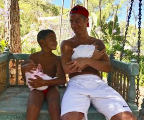 Cristiano Ronaldo Has Shared Another Photo Of His Twins Via Surrogate Mother