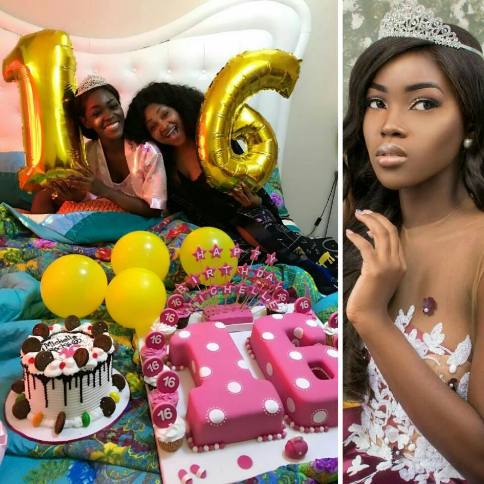 Mercy Aigbe Celebrates As Daughter Michelle Turns 16