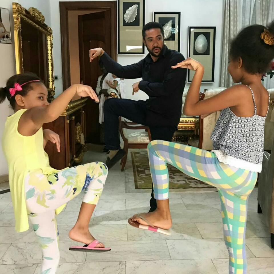 Majid Michel In Kung Fu Styled Photoshoot