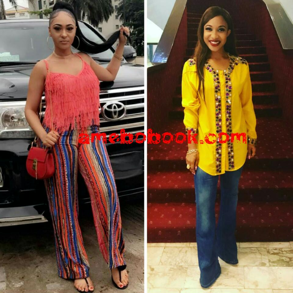 Rosaline Meurer Thinks Tonto Dikeh Is Using The Name Of The Lord In Vain