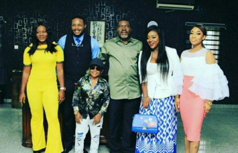 Tonto Dikeh Celebrates Her Return To Nollywood After Four Years