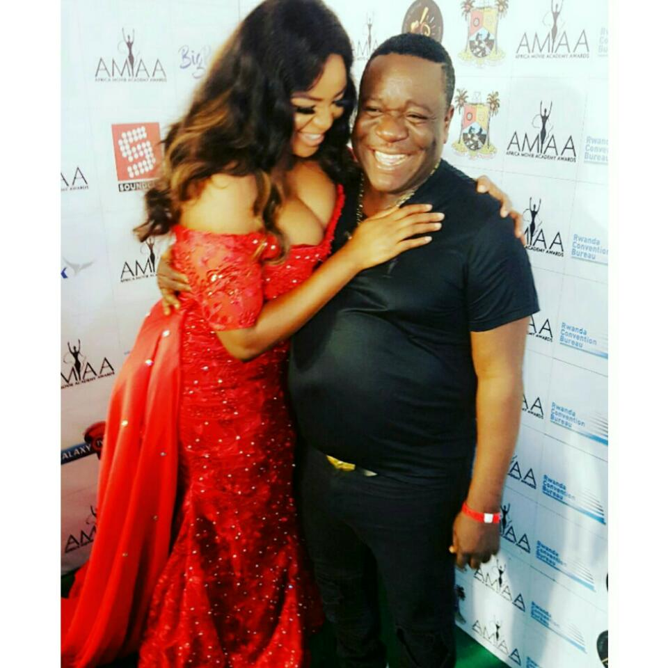 John Okafor And Funke Adesiyan Pictured Together At The AMMA Awards 2017
