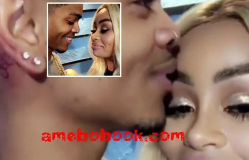 Blac Chyna Was Filmed Loved Up With Mystery Man Who Has BC Tattoo