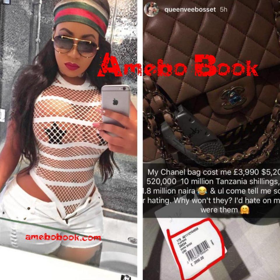 Vera Sidika Bragging About Her N1.8million Chanel Bag
