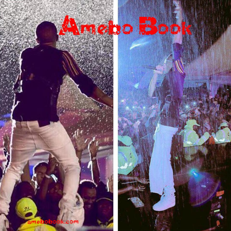 Wizkid Performed Under Heavy Rain At The 4th Year Anniversary Of Barbeque Live In Nairobi