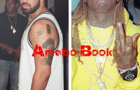 Drake Got Lil Wayne Tattoo On His Arm