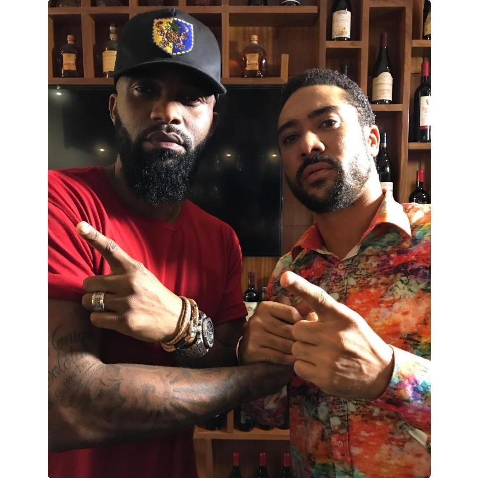 Majid Michel And Fally Ipupa Were Pictured Together