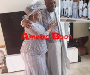 John Mahama Pictured With His Family To Mark 25 Years Of Marriage