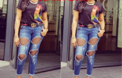 Oge Okoye And Her Ripped Jeans