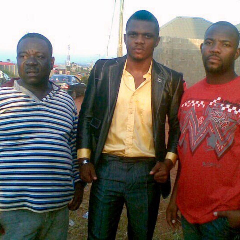 John Okafor Pictured Alongside Nollywood Stars Ken Erics And Okey Bakassi In Epic Throwback