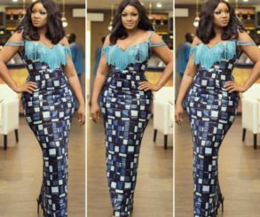 Omotola Jalade Ekeinde Slayed In Beaded Sequined Dress At Private Viewing Of Alter Ego The Movie