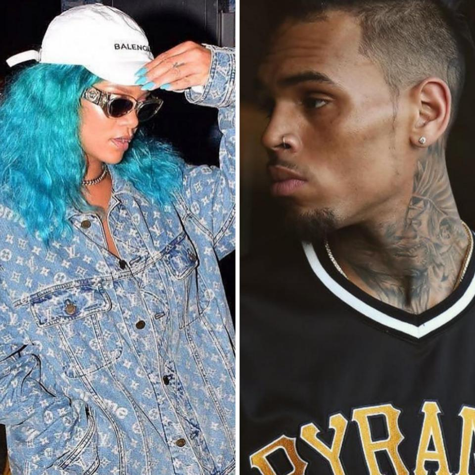 Rihanna Fans Are Furious That Abusive Ex-Boyfriend Chris Brown Commented On Her Barbados Crop Over Festival Photo