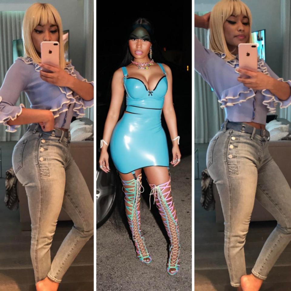 Nicki Minaj Puts Her Butt-Cheeks On Full Display