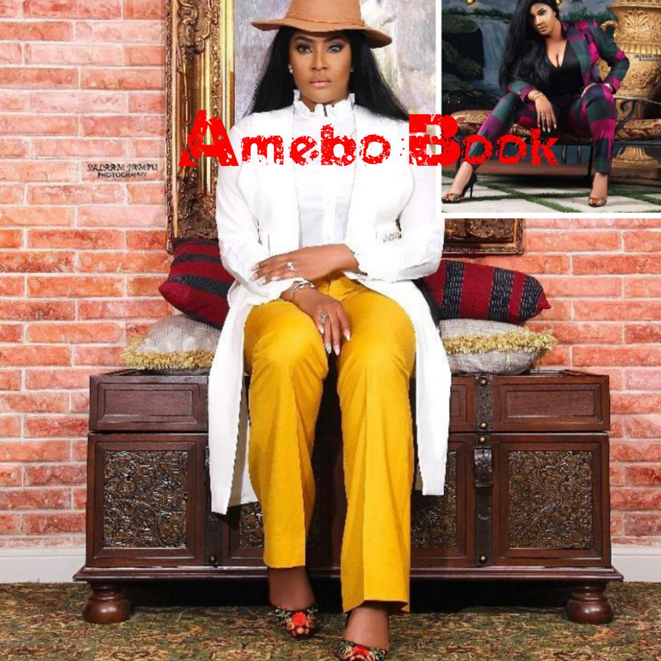 Angela Okorie Replies Commenter Who Questioned Her For Wearing The Same Shoes In Her Photos