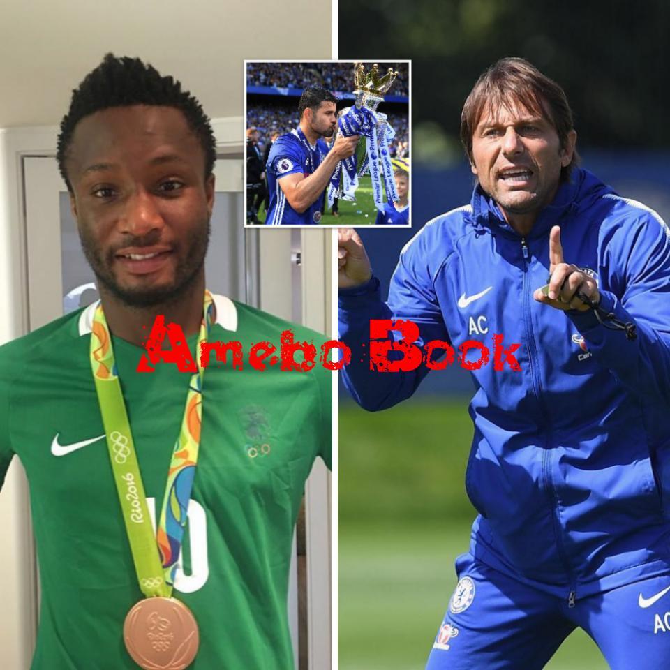 Emmanuel Sarki Has Revealed That Antonio Conte Treated Mikel Obi Worse Than Diego Costa