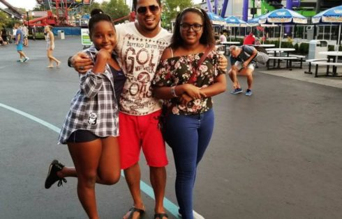Van Vicker Shows Off His Lovely Daughters