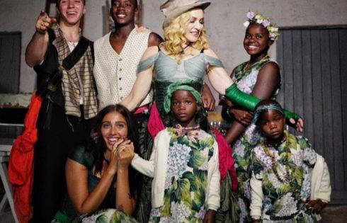 Madonna Shared A Rare Photo Of All Six Of Her Kids Together
