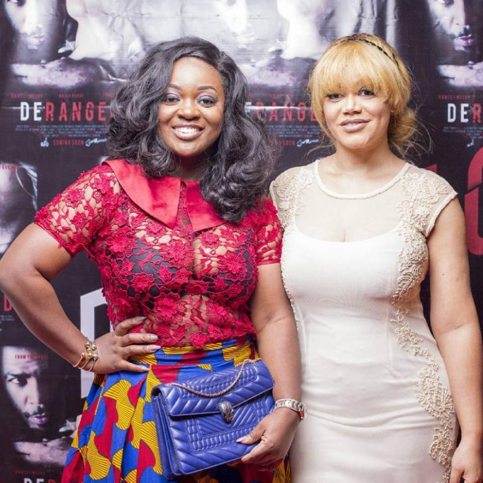 Nadia Buari Private Screening Of Deranged