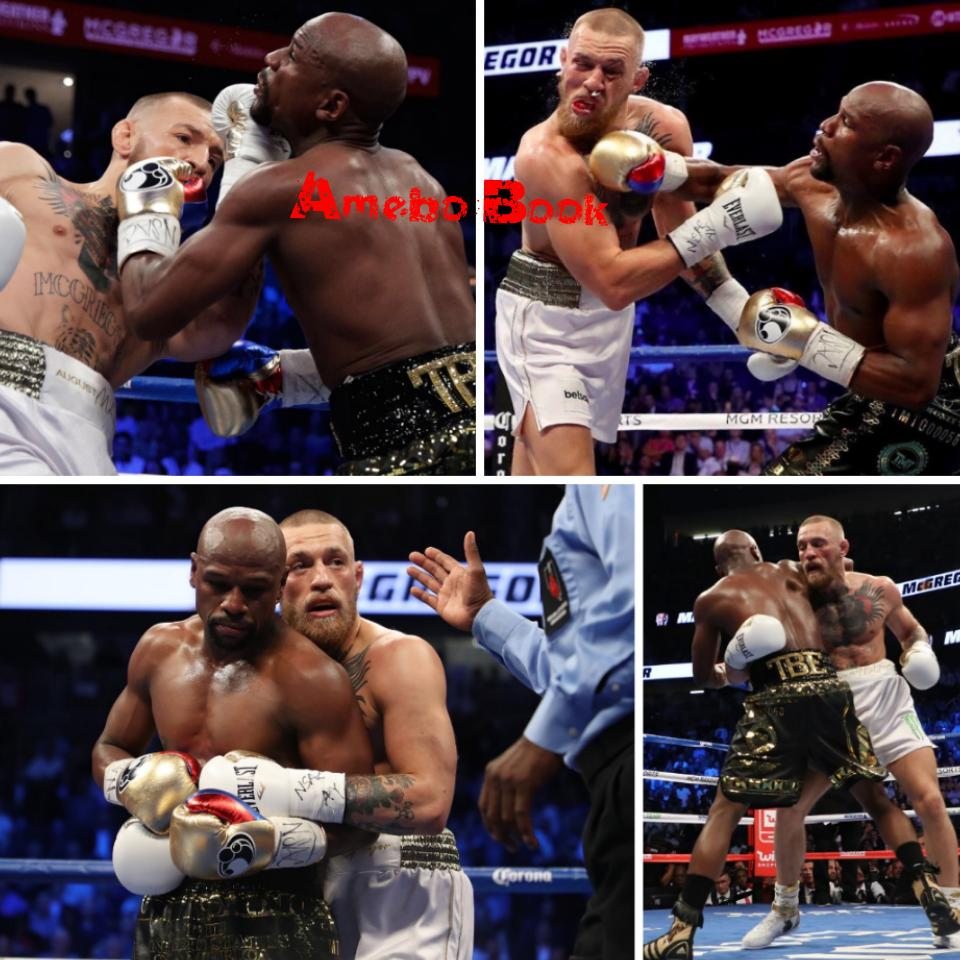 Floyd Mayweather Beats ConorMcGregor In The 10th Round ByTKO