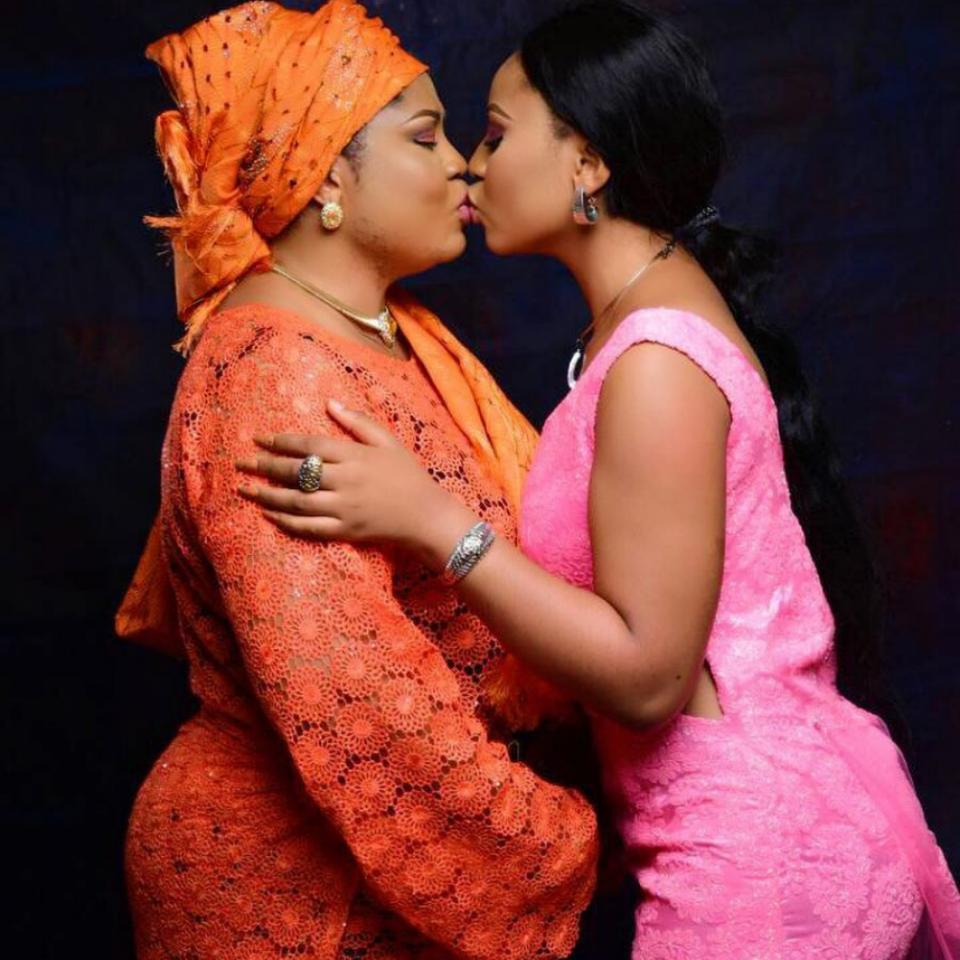Shocking beautiful nollywood actresses who are alleged to be lesbians